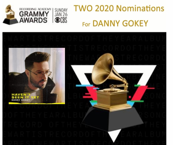 Danny Gokey two 2020 Grammy Nominations