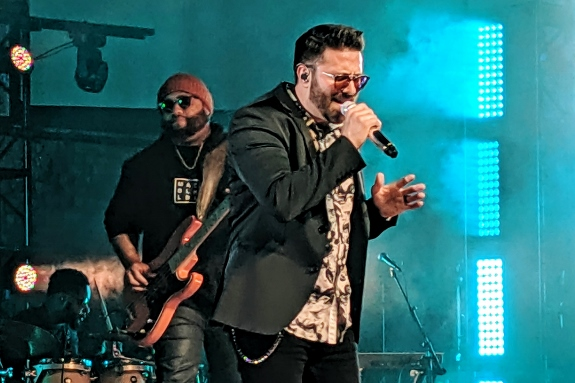 Danny Gokey and Eric Ramey in Naperville, IL