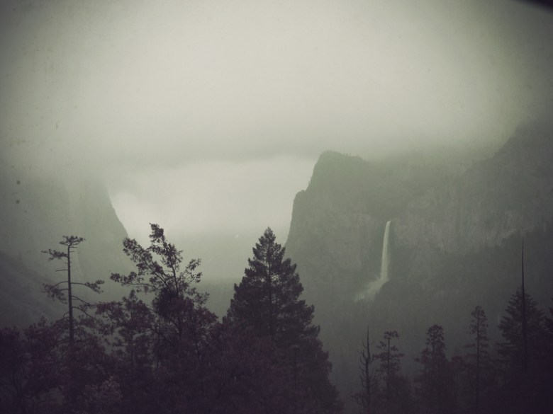 Yosemite Valley Rain