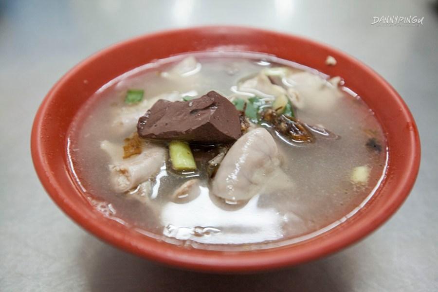 豬血粉腸湯