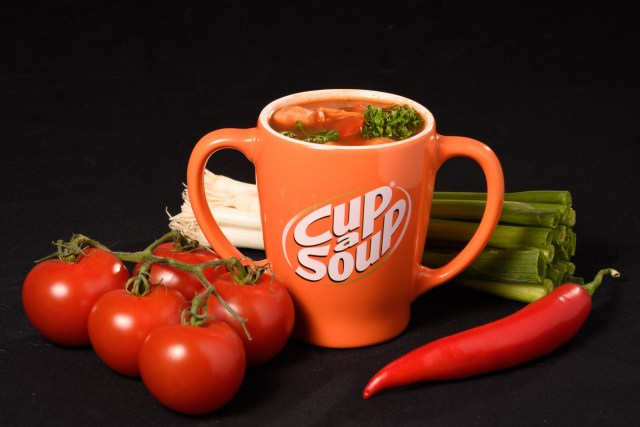 Cup-a-Soup reclame