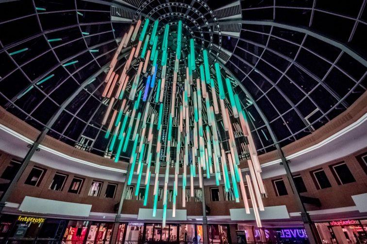 vrijdag 17 november de mooste november dag die je kunt bedenken nar het lichtjes feest in de lichtstad Endhoven met een knipoog naar Philips