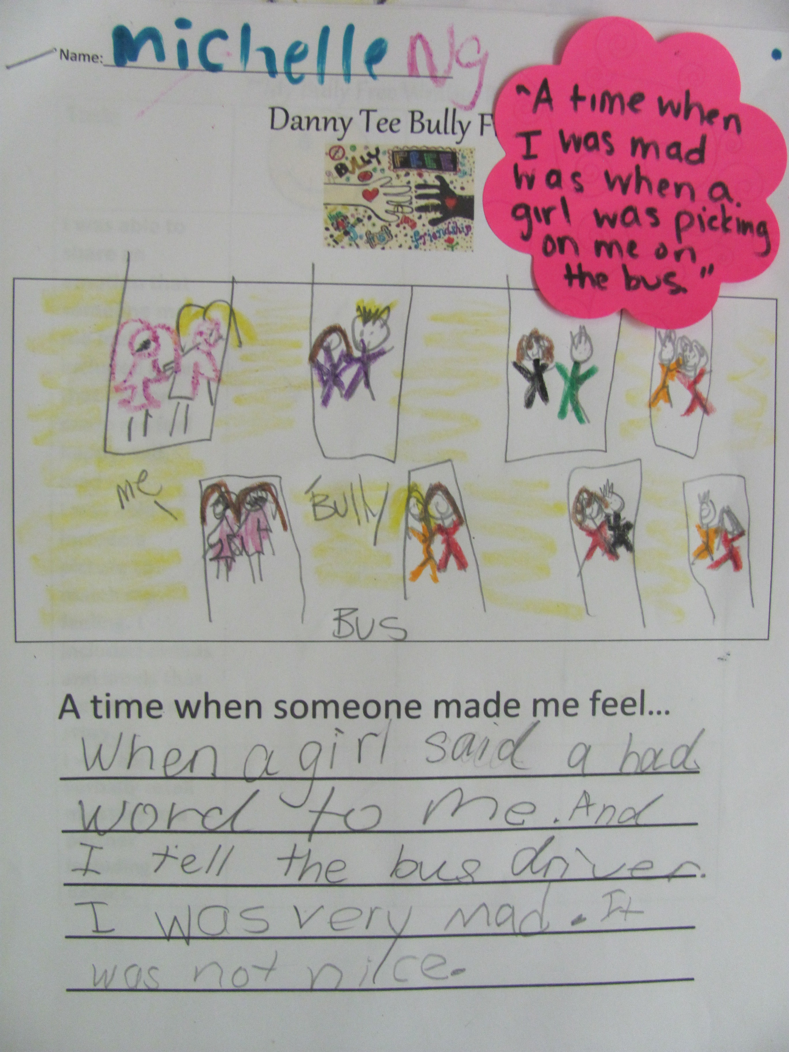Kindergarten Classroom Anti Bullying Lesson With Universal Design For Learning Differentiated