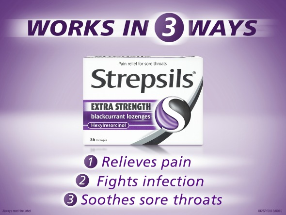 Strepsils - Taken from a review by DannyUK.com