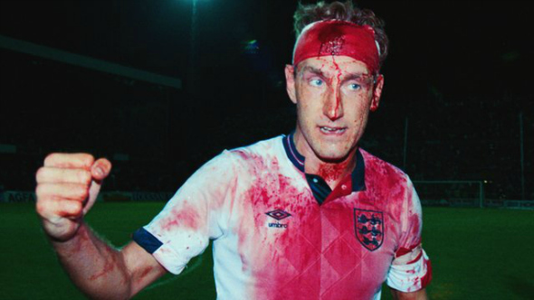 A bloodied Terry Butcher - Used in the article 'Sky 3D' at DannyUK.com. Original image taken from BBC.co.uk, with thanks.