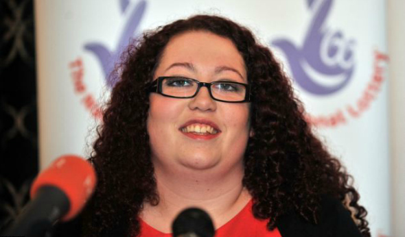 "Colchester Lottery Winner Eloise Hutchinson. Image taken from an article by DannyUK.com ""Colchester Lottery Winner"""