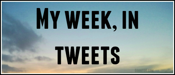 My week, in tweets…