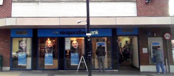 My first week at Co-op Bank in Chelmsford - image taken by Mike Hedgethorne
