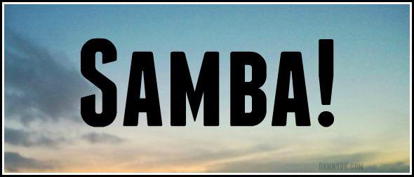 Eldest daughter does Samba!