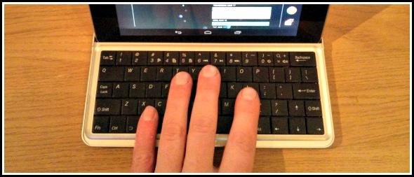 Google Nexus 7 keyboard