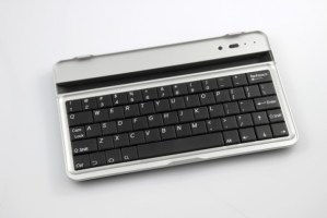 Wireless Bluetooth Keyboard Case For Google Nexus 7 Tablet (BLACK Keys)