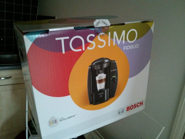 The Tassimo Fidelia box - Taken from a Tassimo Fidelia review.