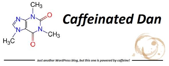 Caffeinated Dan logo old - Taken from the article Describing my blog by DannyUK.com