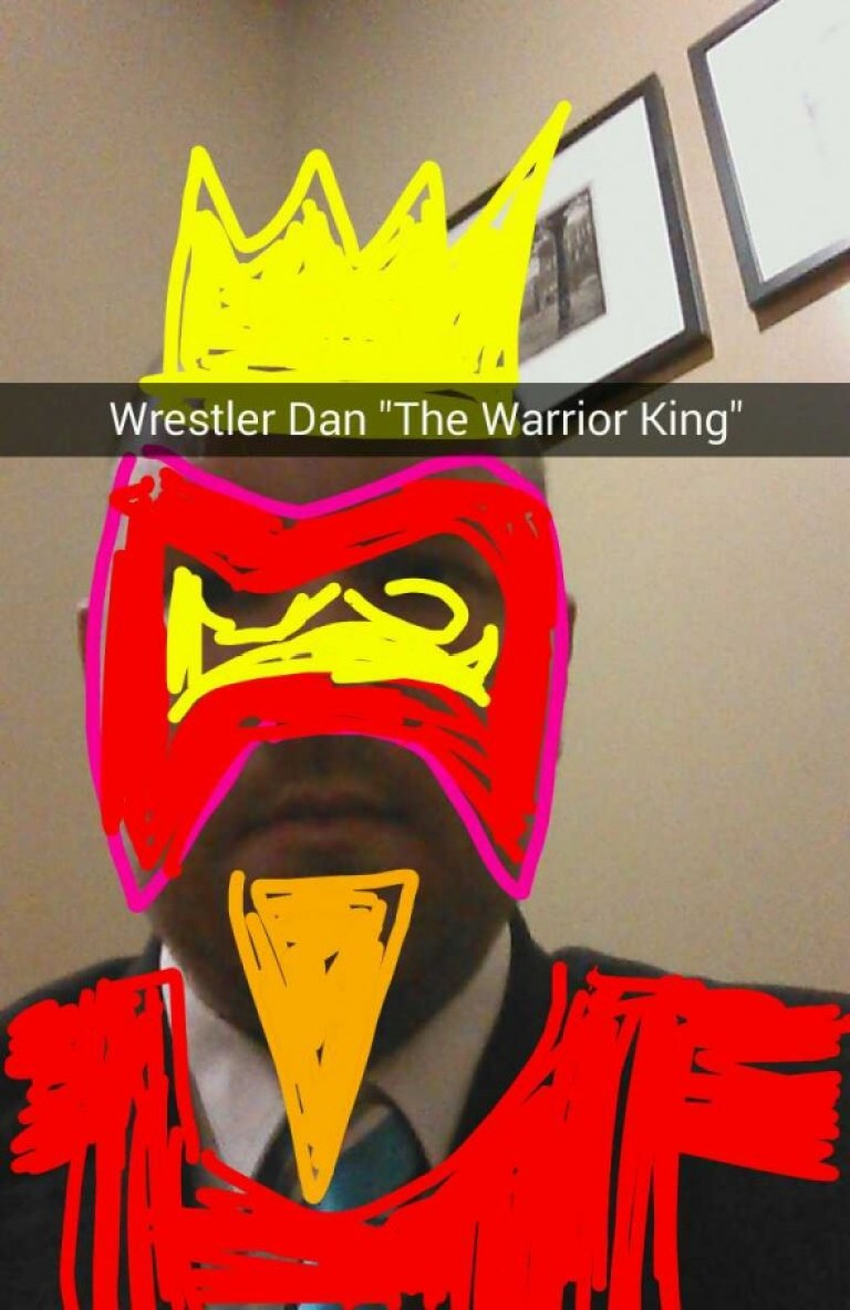 Snapchat WrestlerDan - Taken from an article titled Snapchat pictures by DannyUK.com