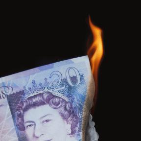 Burning Money by wasting energy