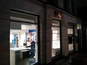 Chelmsford at night – RBS