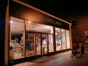 Chelmsford at night – Lakeland