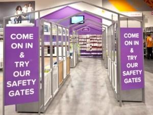 Kiddicare safety gates by Nathalie Vanderiet of Cargo Collective