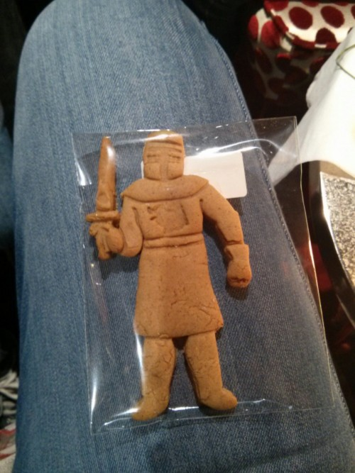 Gingerbread Knight