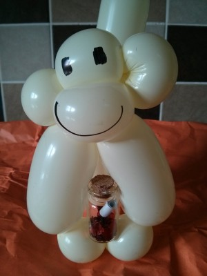 Balloon Baboon competition – Win a Valentine's present!