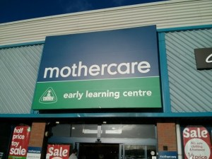 Mothercare sign and Early Learning Centre signage – Croft Business Park, Welton Rd, Bromborough, Wirral, Cheshire – Taken by DannyUK for DannyUK.com