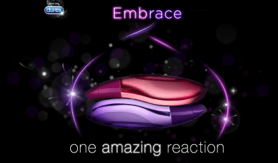Durex Embrace - One Amazing Reaction - Taken from a review of Durex Embrace pleasure gels by DannyUK.com