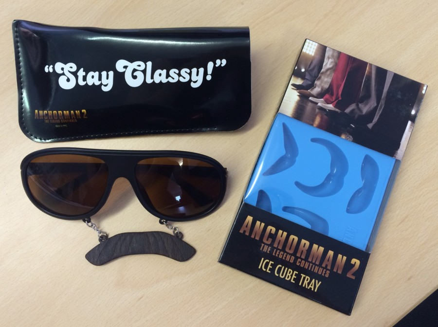 Anchorman 2 giveaway