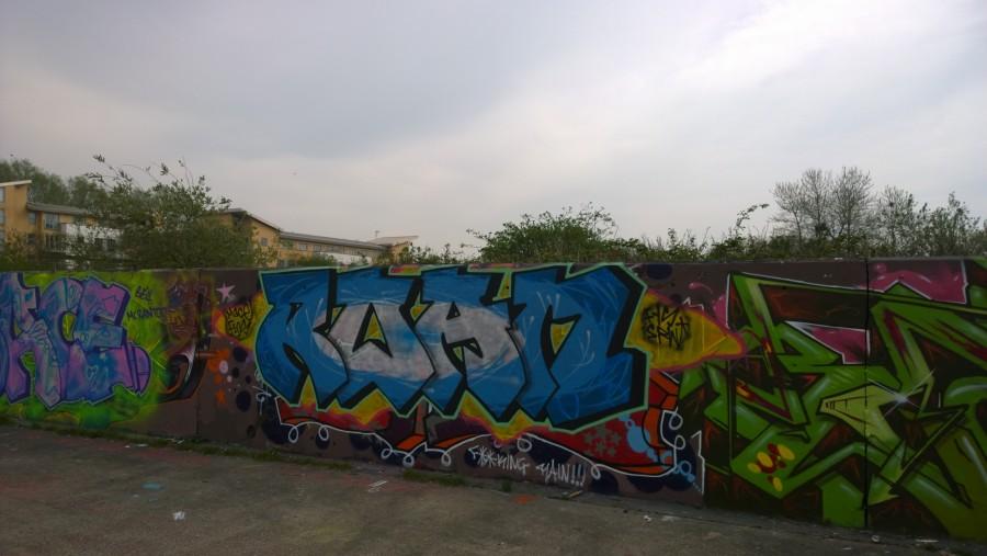 Chelmsford graffiti – taken by Nokia Lumia 1020