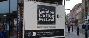 London Coffee Festival 2014 Entrance