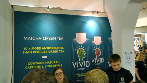 London Coffee Festival 2014 - Matcha Green Tea