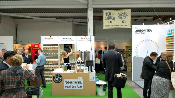 London Coffee Festival 2014 - Other tea stands