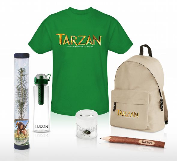 Tarzan movie prizes