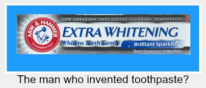 Sir Ranulph Fiennes – The man who invented the toothpaste?