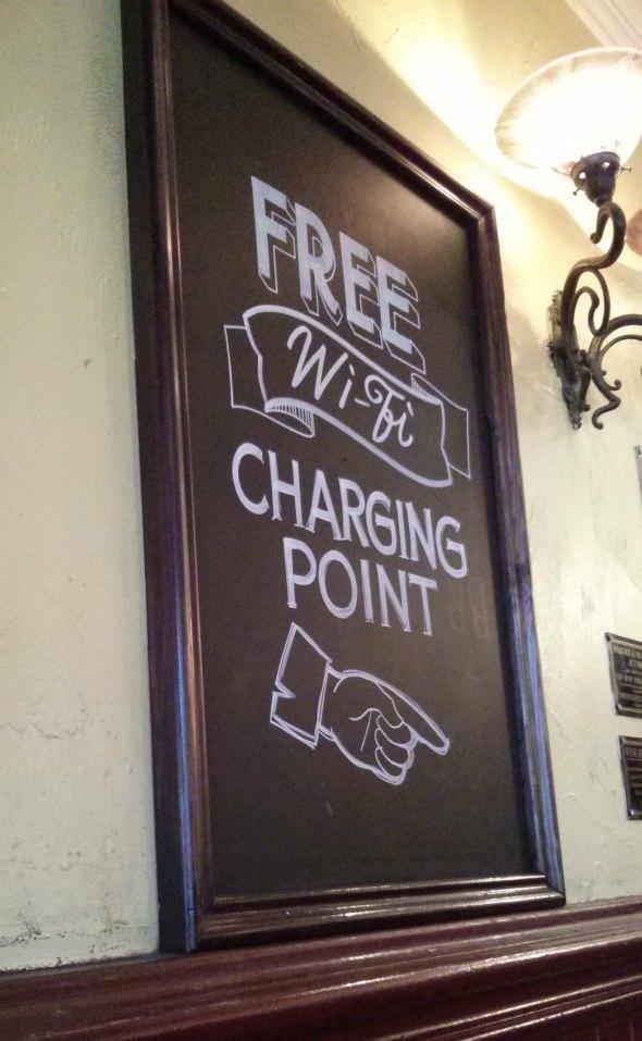 Wifi charging!