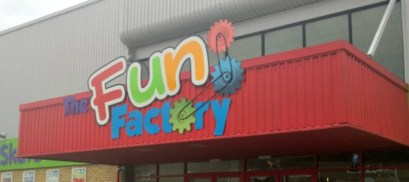 The fun factory Rochford entrance