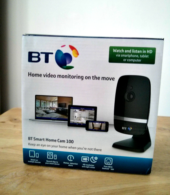 BT Smart Home Cam 100 review - Taken from a review by DannyUK.com