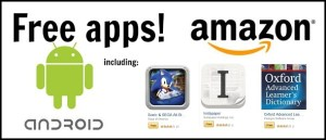 Free Android Apps from Amazon header