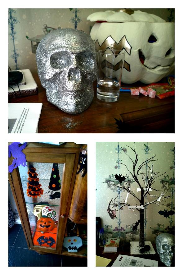 Hobbycraft Halloween collage