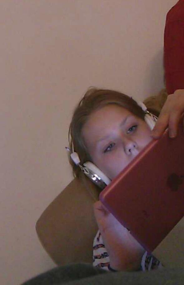 My Sunday Photo - 13-year-old moaning