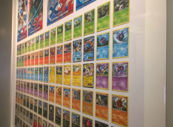 Nintendo Kids Pokemon wall.  Taken from a Nintendo Vlog article by DannyUK.com