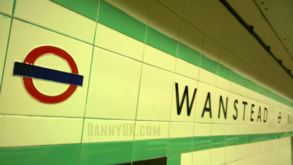 Wanstead underground sign - Taken from an article by DannyUK.com
