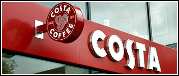 The largest Costa Coffee in the world (no, really!)