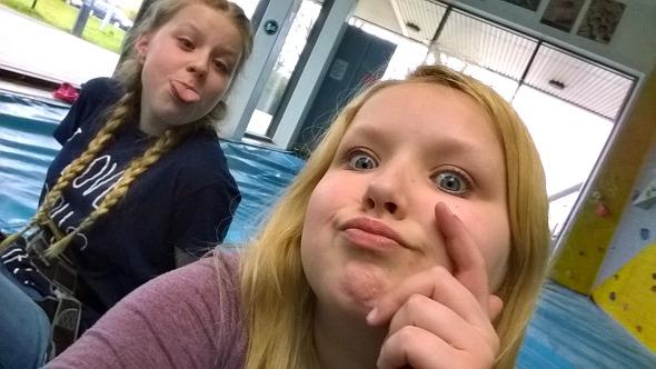 High Sports Basildon - Eldest two take a selfie break