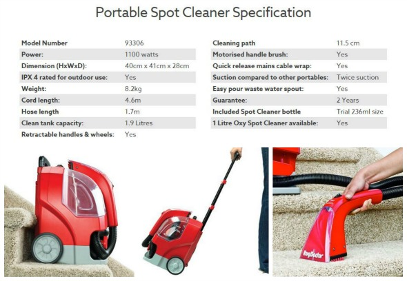 Rug Doctor Portable Spot Cleaner