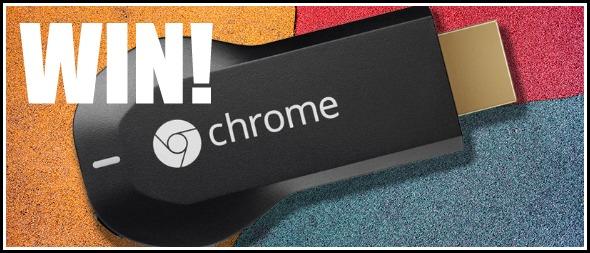 Google Chromecast giveaway