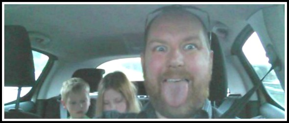 Being a dad of four kids – aka being a taxi driver