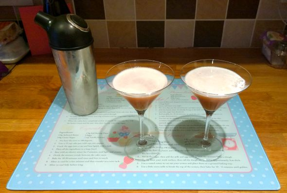 French Martini - The final drink
