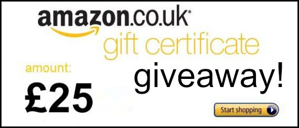 Competition: £25 Amazon Voucher giveaway!