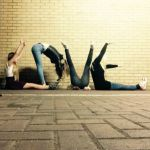 My Sunday Photo – Teenage girls spelling L-O-V-E