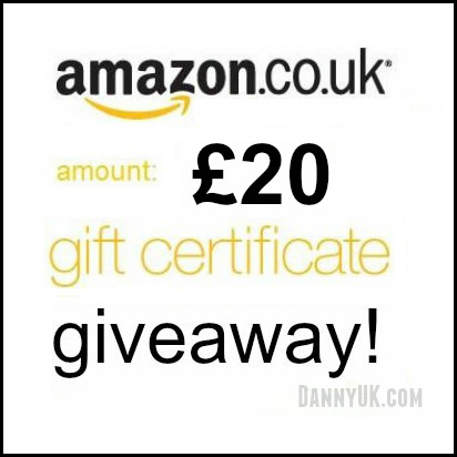 Competition: Win a £20 Amazon voucher - Taken from a competition run by DannyUK.com